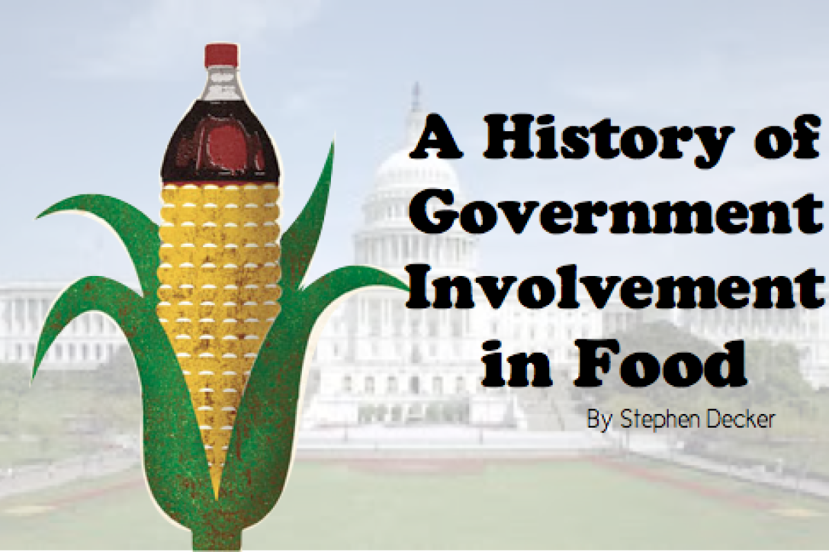A History of US Government Involvement in Food