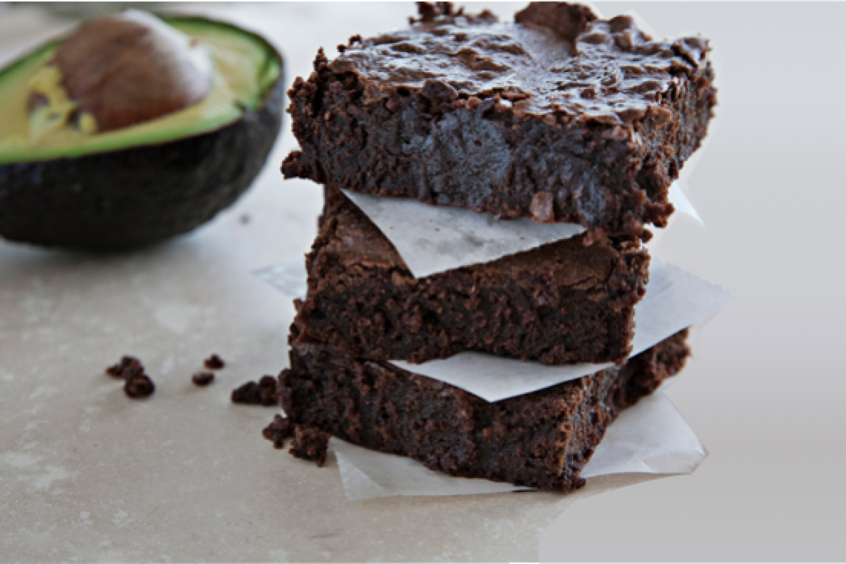 Mint Chocolate Chip Paleo Brownies