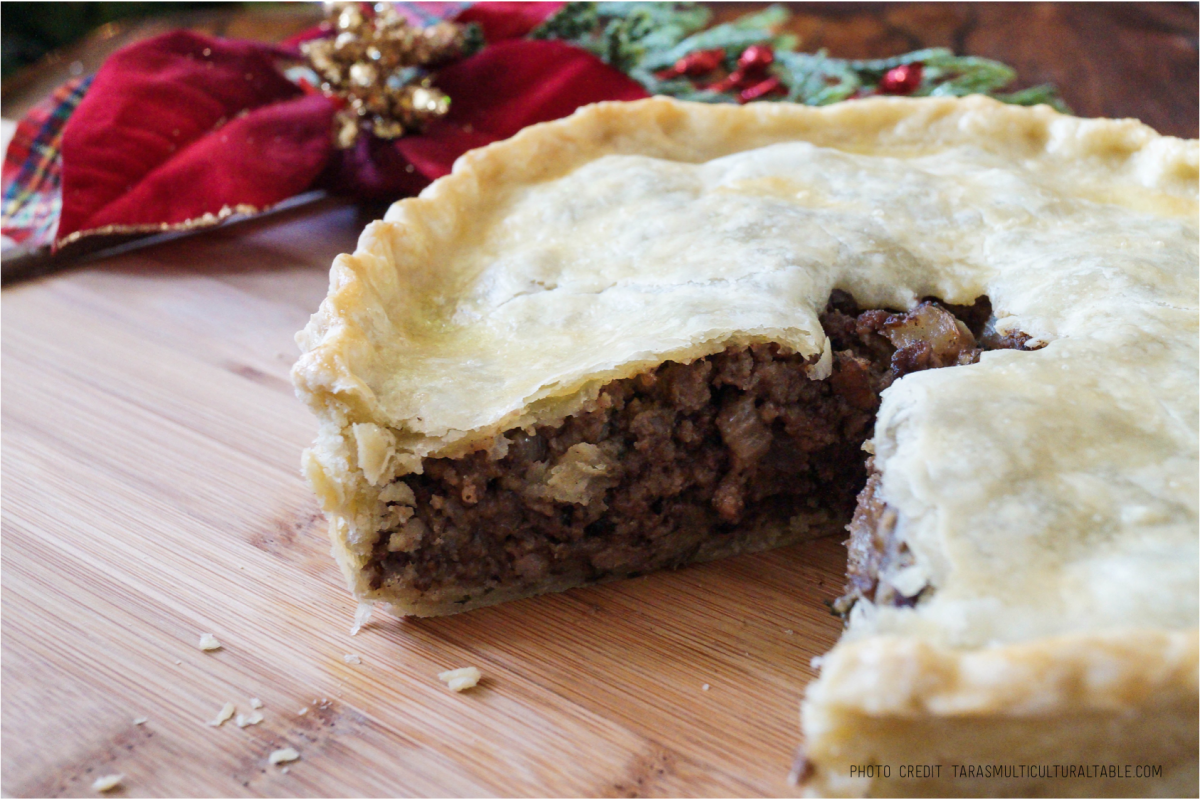 Paleo Sweet Potato Pie with Lamb