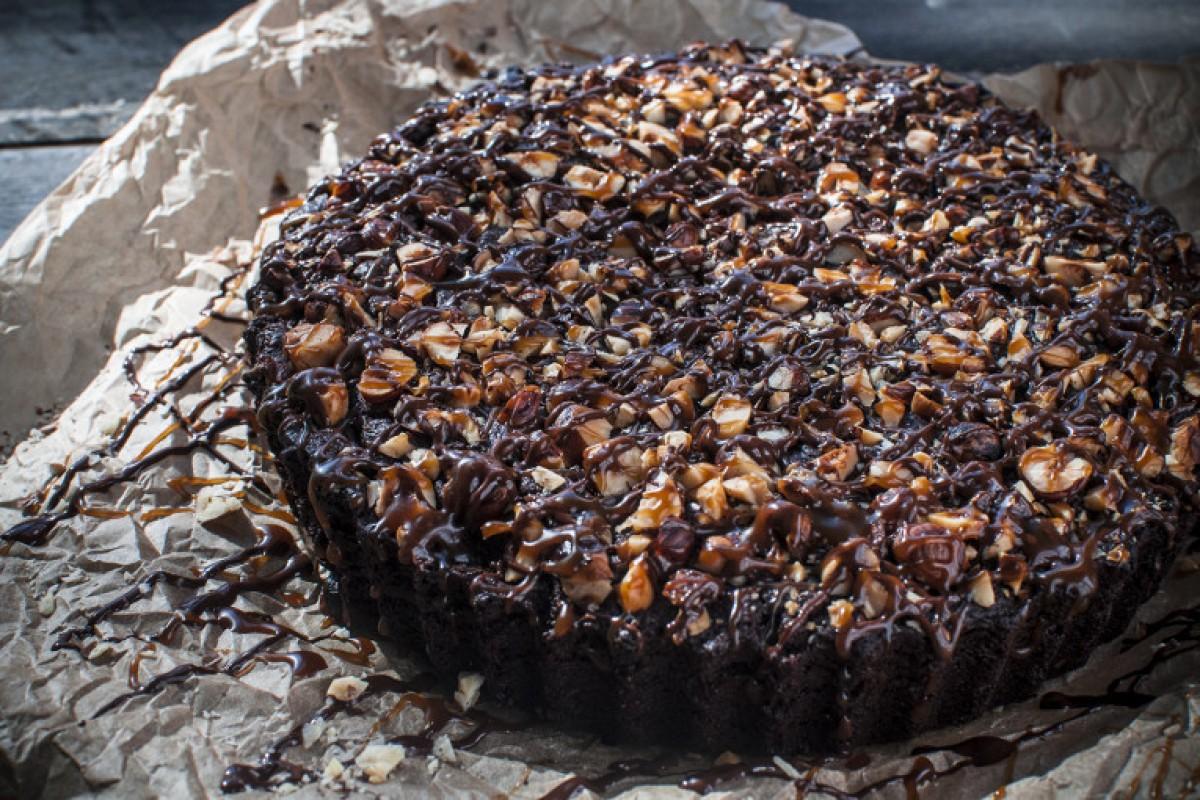 Caramel Hazelnut Crownie