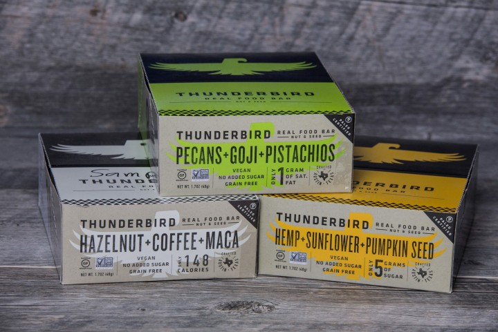"<span class=""hot"">Hot <i class=""fa fa-bolt""></i></span> Thunderbird Real Food Bars"