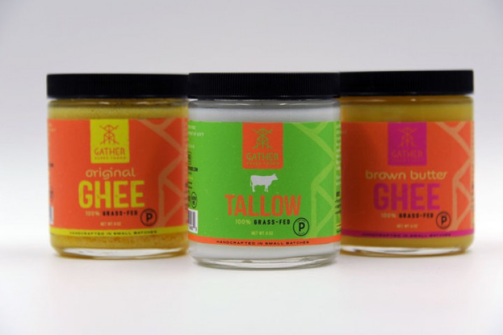 Gather Superfoods Certified Paleo Ghee and Tallow