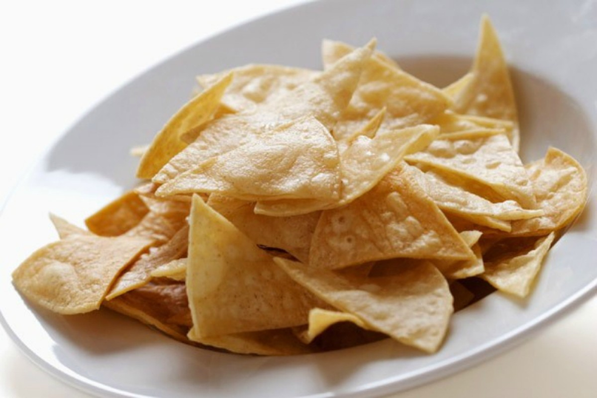 Seasoned Paleo Tortilla Chips