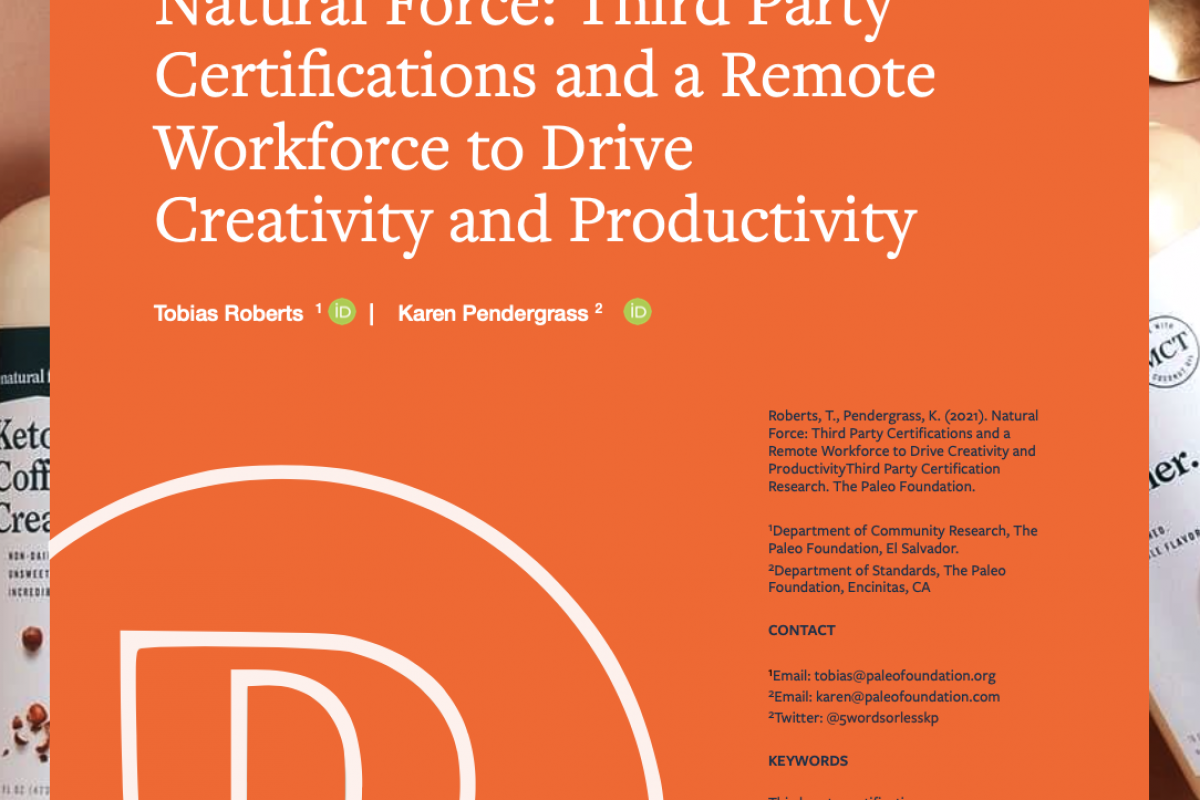 Natural Force: Third Party Certifications and a Remote Workforce