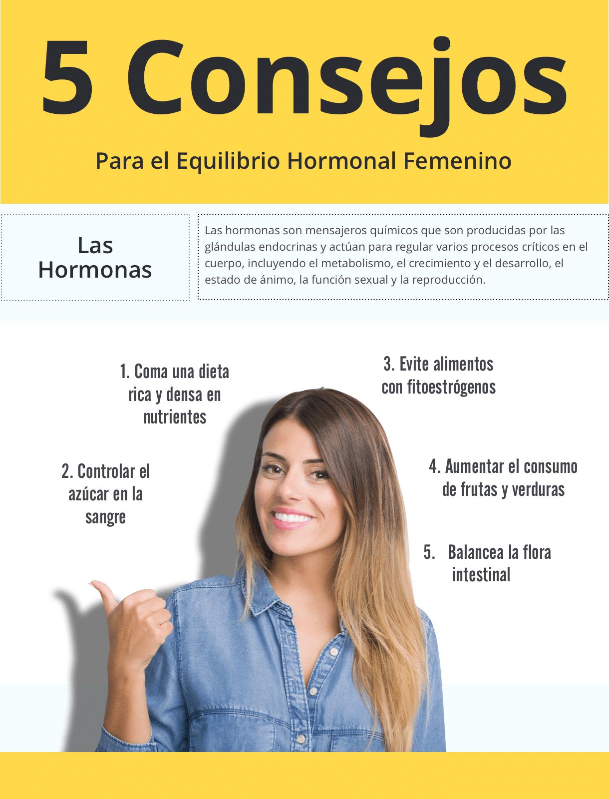 el equilibrio hormonal femenino
