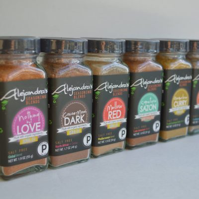 Alejandra's Seasoning Blends are made in small batches using only 100% certified organic ingredients that are naturally gluten-free and vegan. Our environmental-friendly packaging helps preserve the quality and flavor of the blends, meant to infuse food with bold and amazing flavors. #paleo #certifiedpaleo