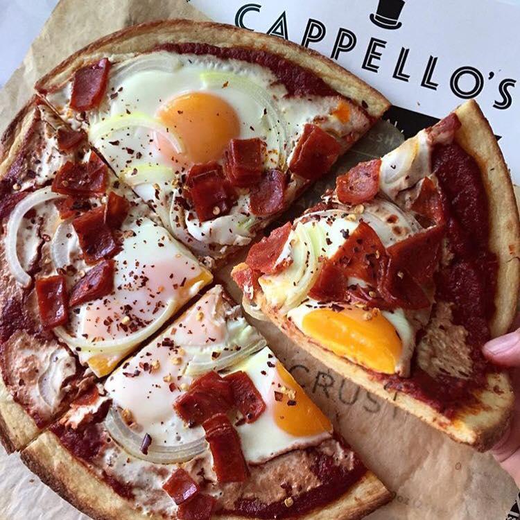 Certified Paleo Cappello's Spunky Coconut Pizza