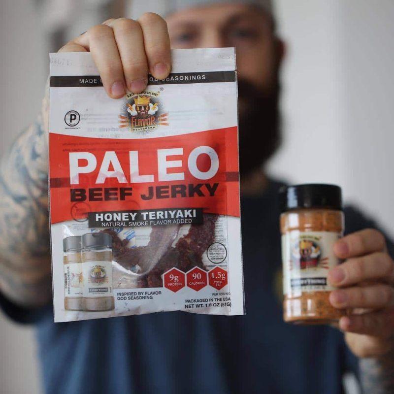 flavorgod certified paleo beef jerky
