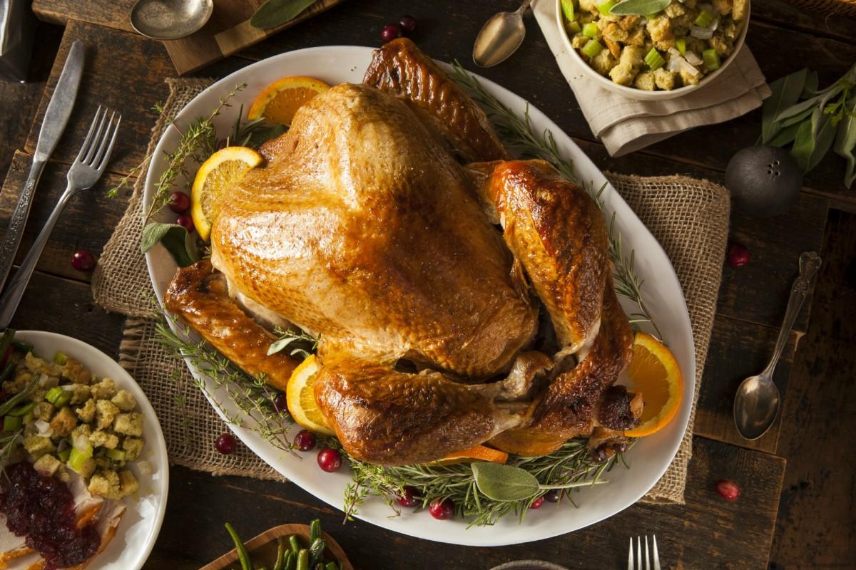 Rosemary and Orange Roasted Turkey