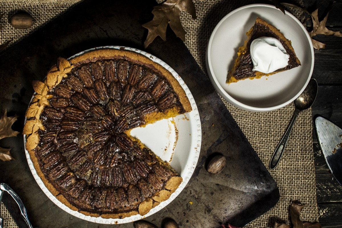 Paleo Sweet Potato Pecan Pie