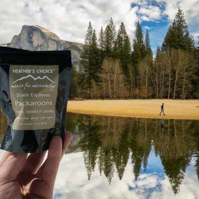 heather's choice adventure food for paleo backpacking