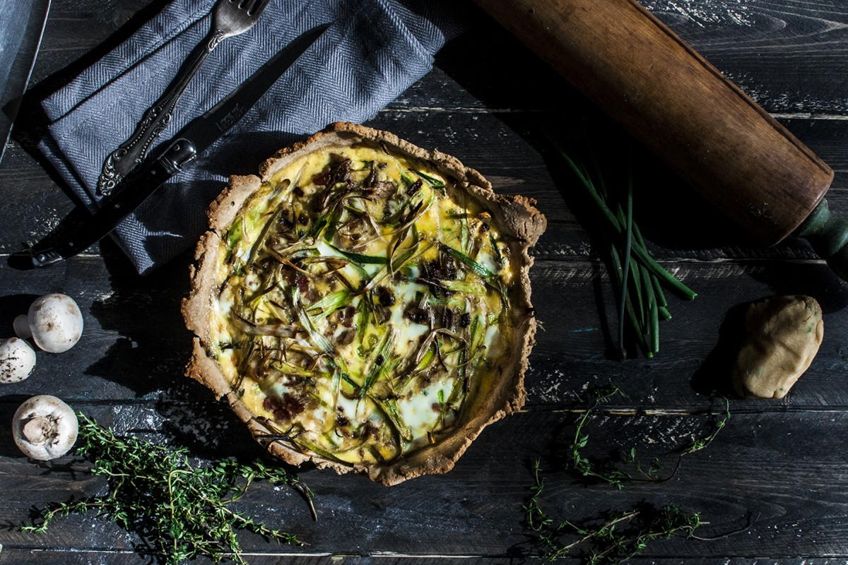 Paleo Bloom Quiche