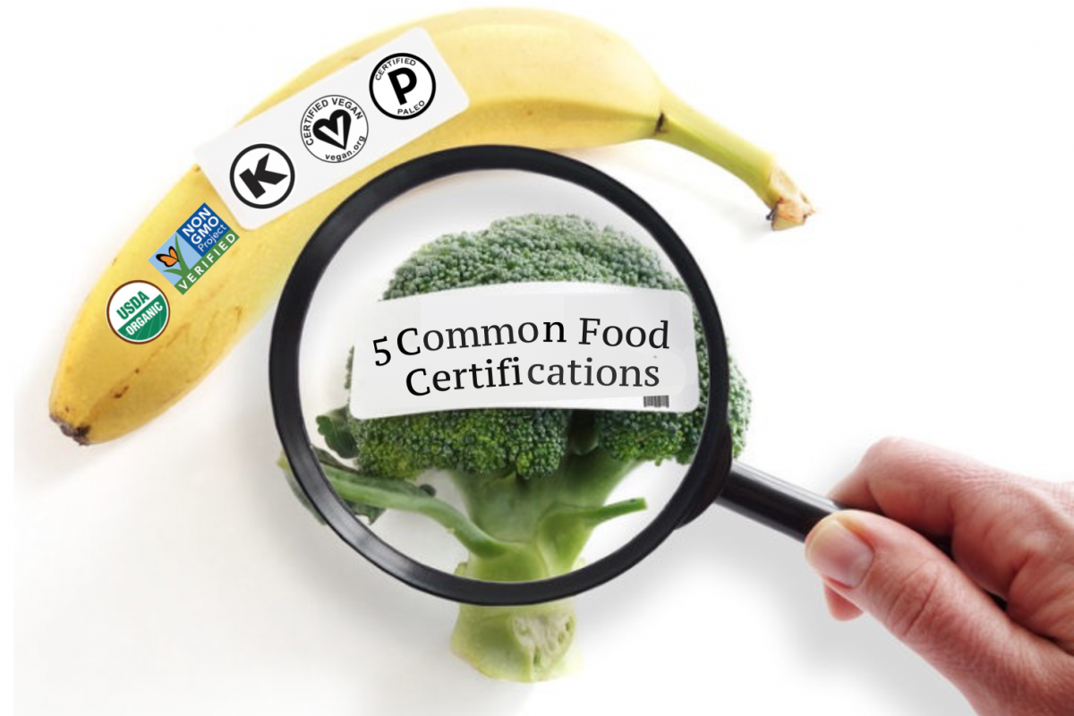 5 Common Food Certifications