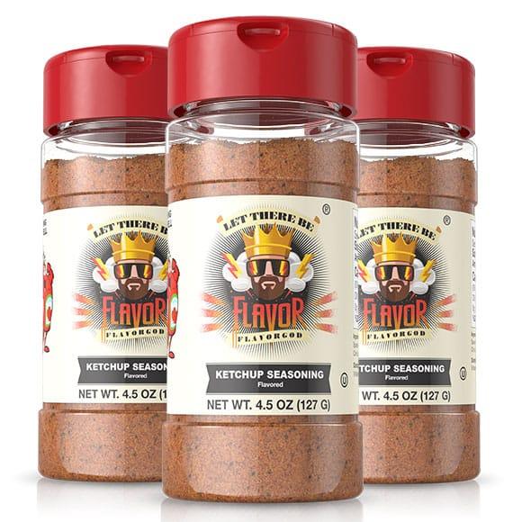 Flavor God Sautéed Chicken Salad and Certified Paleo Ketchup Seasoning