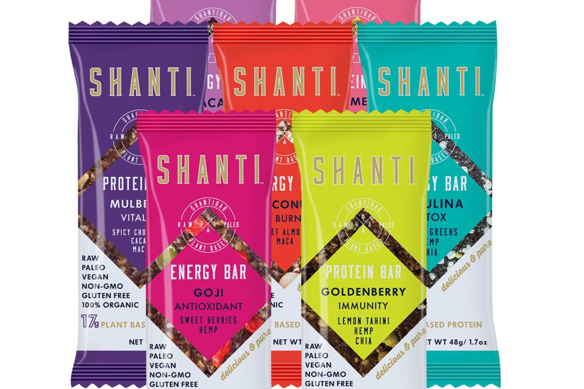 SHANTI BAR IN WHOLE FOODS MARKET
