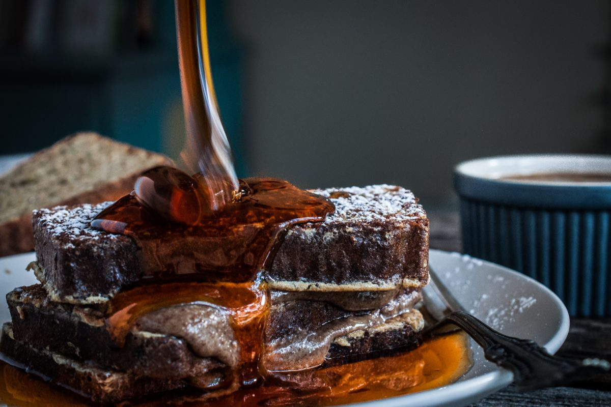 Stuffed Vanilla Bourbon French Toast