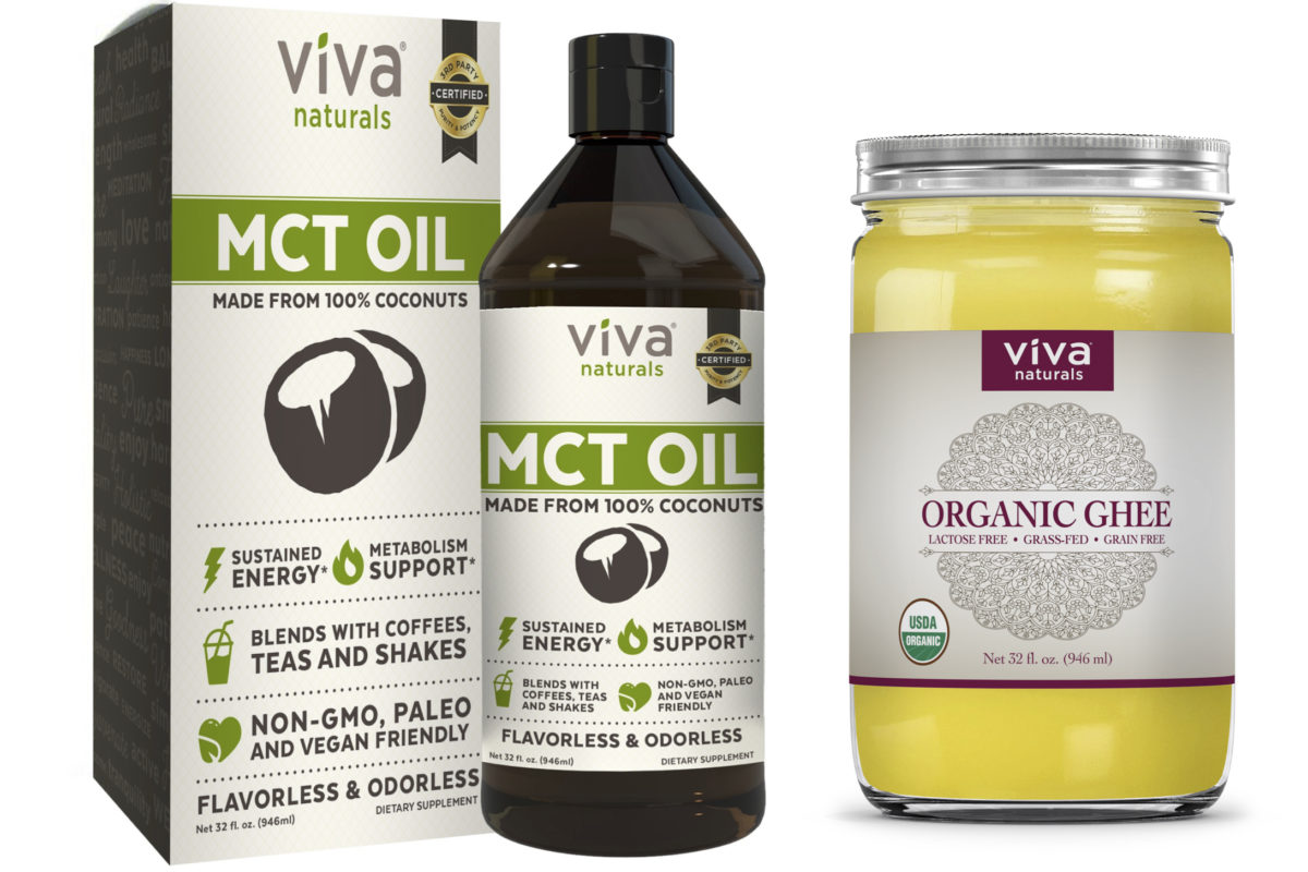 Viva Naturals: MCT Oil and Organic Ghee