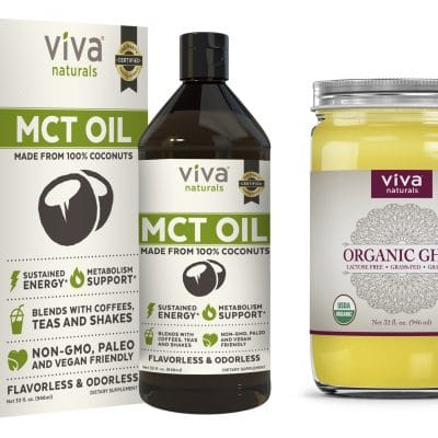 Viva Naturals MCT Oil and Ghee