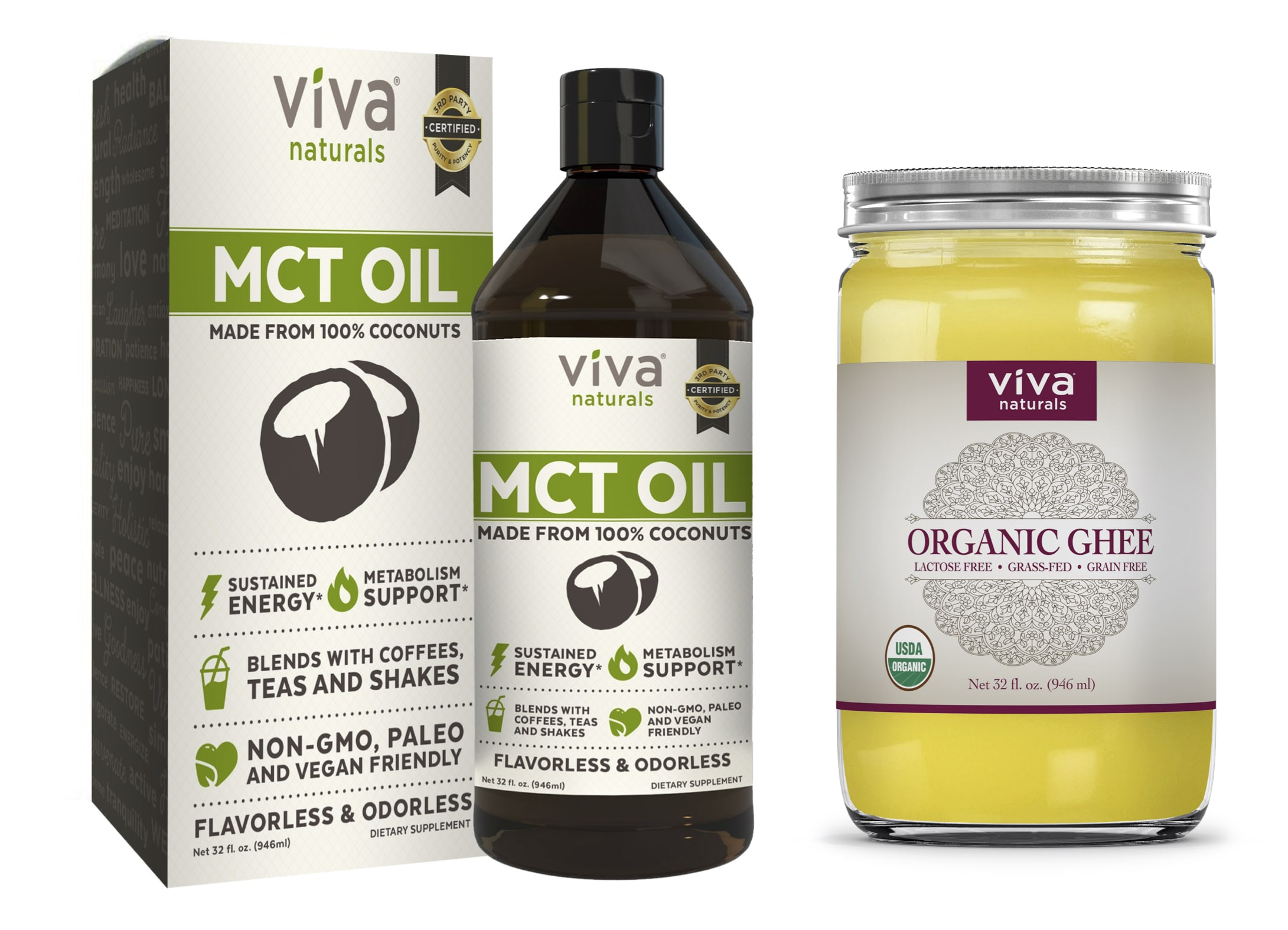 Viva naturals mct oil and organic ghee paleo foundation viva naturals mct oil and ghee xflitez Choice Image