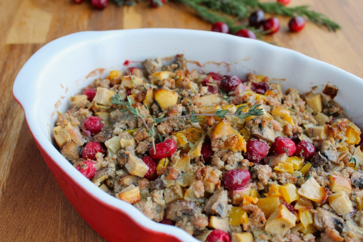 Best Ever Paleo Thanksgiving Stuffing Recipe