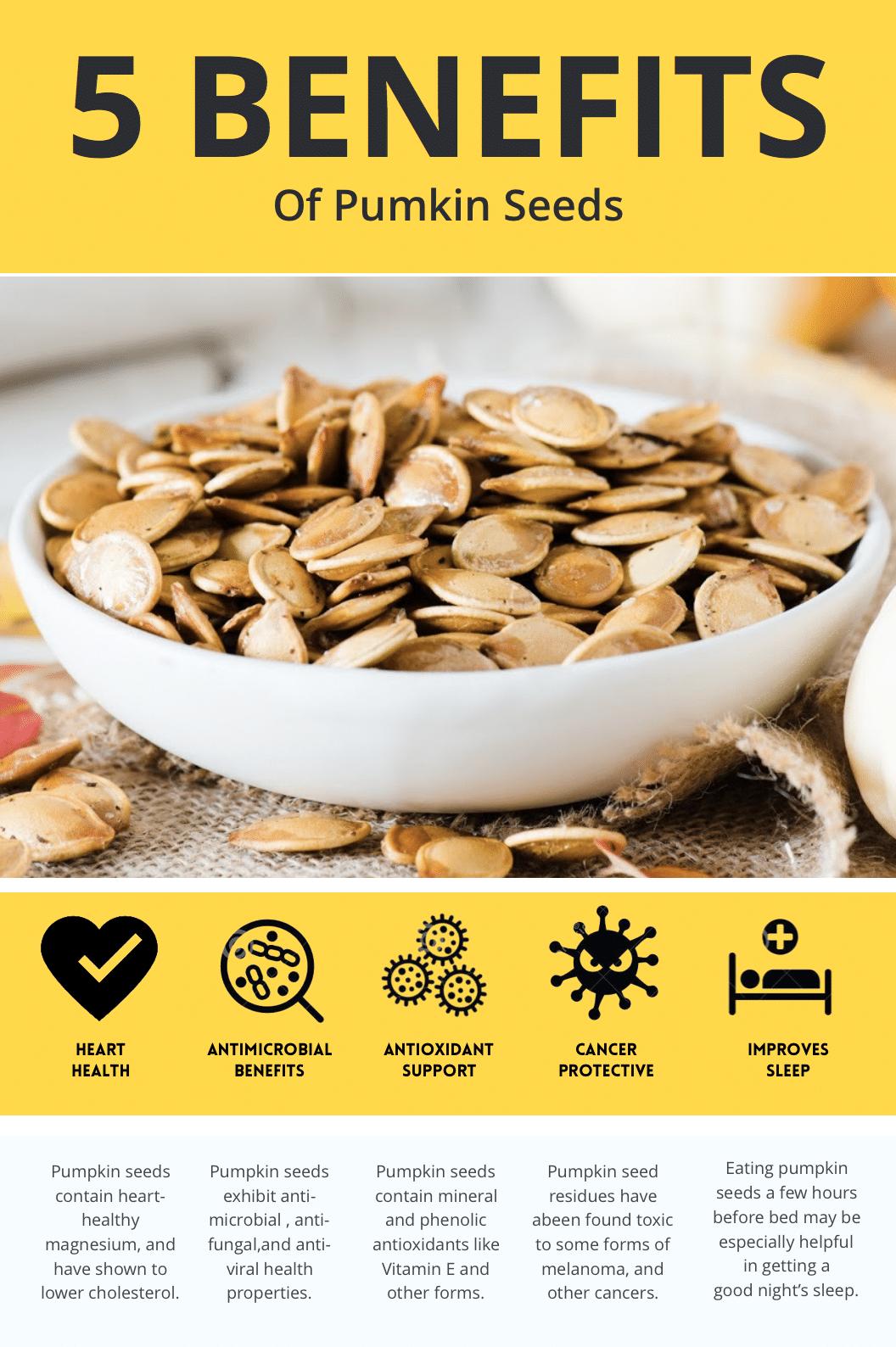 5 benefits of pumpkin seeds paleo and keto friendly
