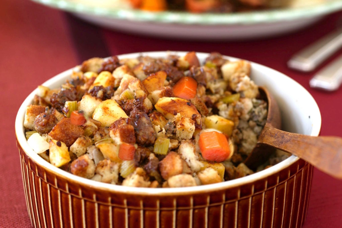 Thanksgiving Stuffing: Flavor Chef Style