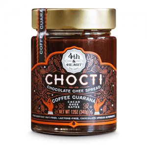 Coffee Guarana Chocti Chocolate Ghee Spread - 4th & Heart - Certified Paleo, KETO Certified - Paleo Foundation