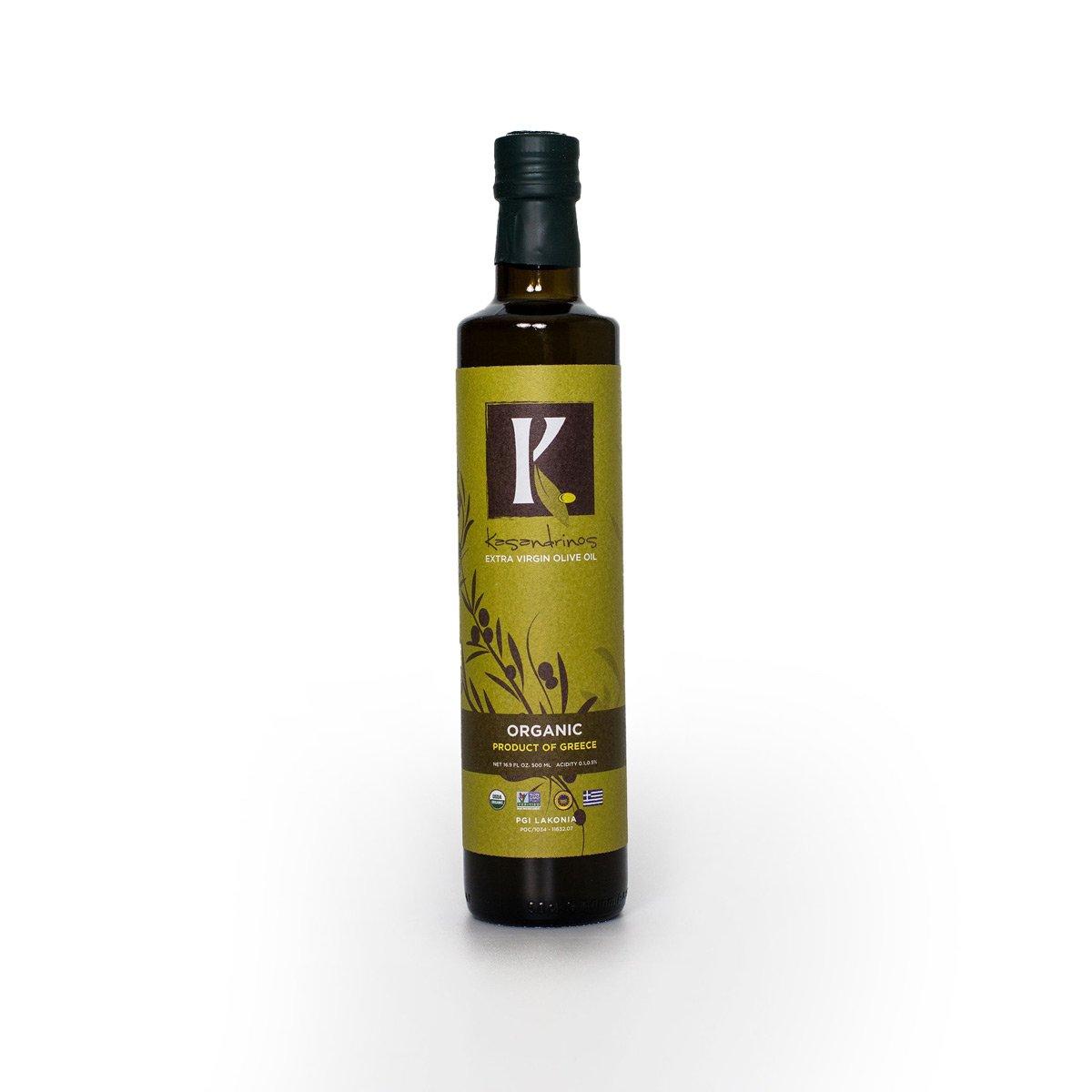 Kasandrinos Extra Virgin Olive Oil - Kasandrinos - Certified Paleo, Keto Certified by the Paleo Foundation