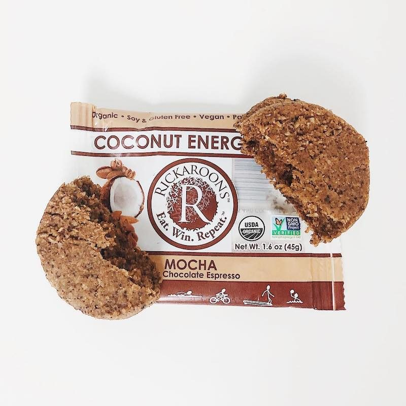 Mocha Coconut Energy Bar package - Rickaroons - Certified Paleo, PaleoVegan by the Paleo Foundation