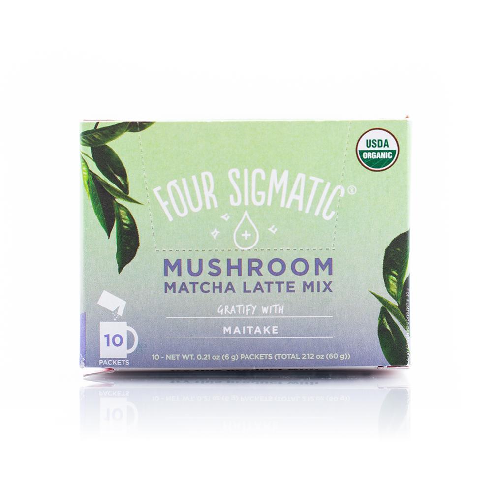 Mushroom Matcha Latte with Maitake - Four Sigmatic - Certified Paleo, PaleoVegan by the Paleo Foundation