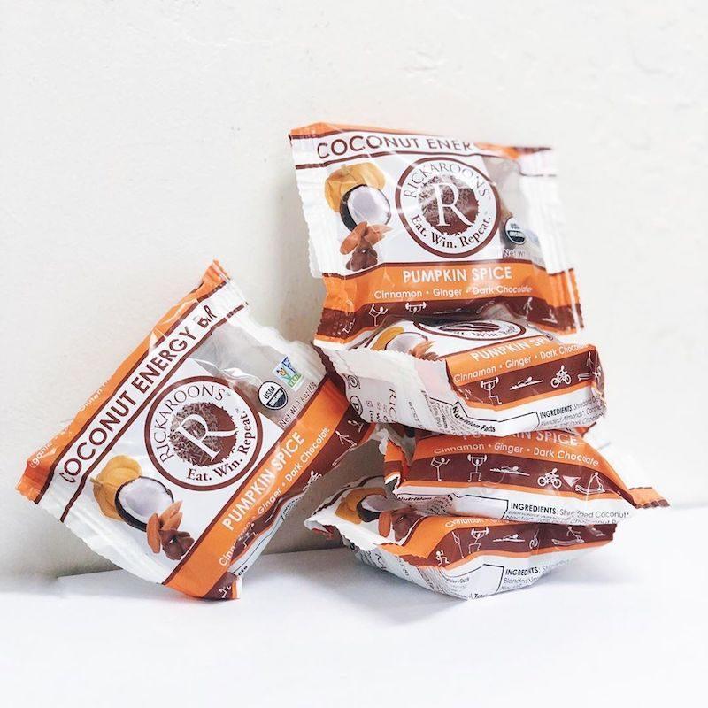 Pumpkin Spice Coconut Energy Bar - Rickaroons - Certified Paleo, PaleoVegan by the Paleo Foundation