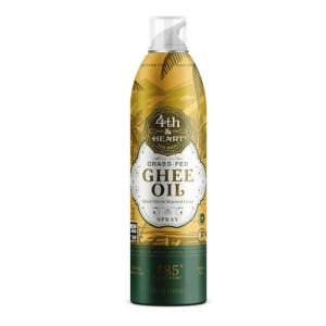 Sprayable Ghee Oil - 4th & Heart - Certified Paleo, KETO Certified - Paleo Foundation