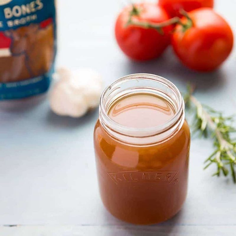 100% Grass-fed Beef Bone Broth 2 - Bare Bones Broth - Certified Paleo, KETO Certified by the Paleo Foundation