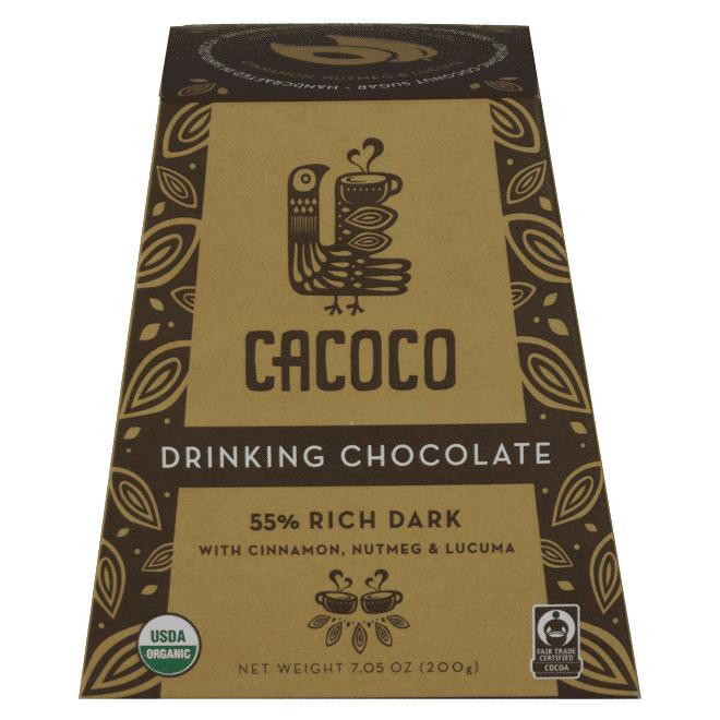 55% Rich Dark Chocolate Blend - CACOCO - Certified Paleo, Paleo Vegan - Paleo Foundation
