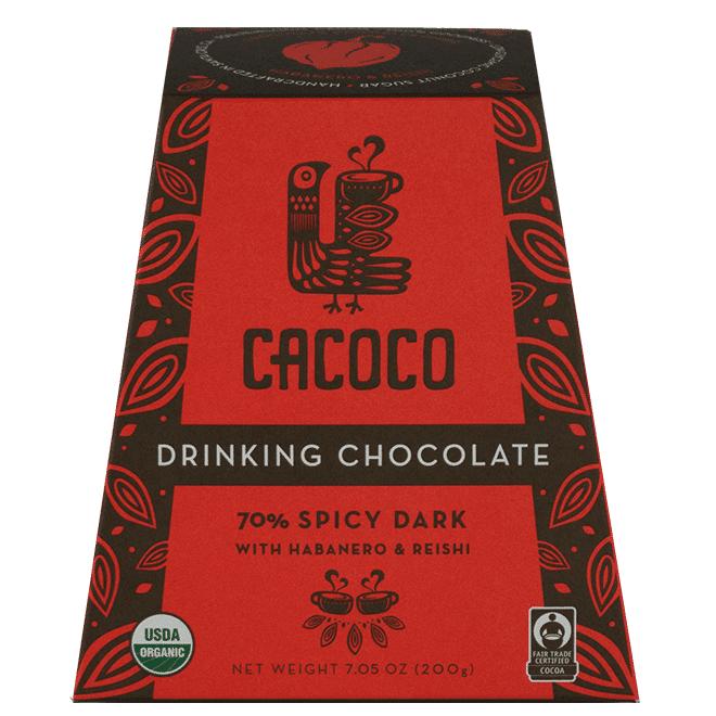 70% Spicy Dark Chocolate Blend - CACOCO - Certified Paleo, Paleo Vegan - Paleo Foundation