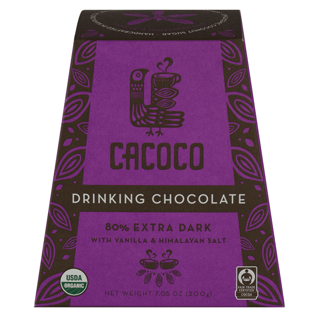 80% Extra Dark Chocolate Blend - CACOCO - Certified Paleo, Paleo Vegan - Paleo Foundation