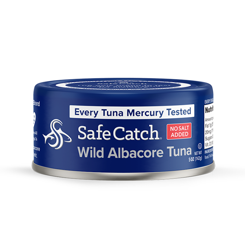 Albacore Wild Tuna No Salt Added - Safe Catch - Certified Paleo, KETO Certified by the Paleo Foundation