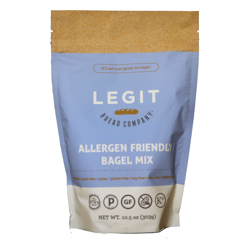 Allergen Friendly Bagel Mix - Legit Bread Co. - Certified Paleo by the Paleo Foundation