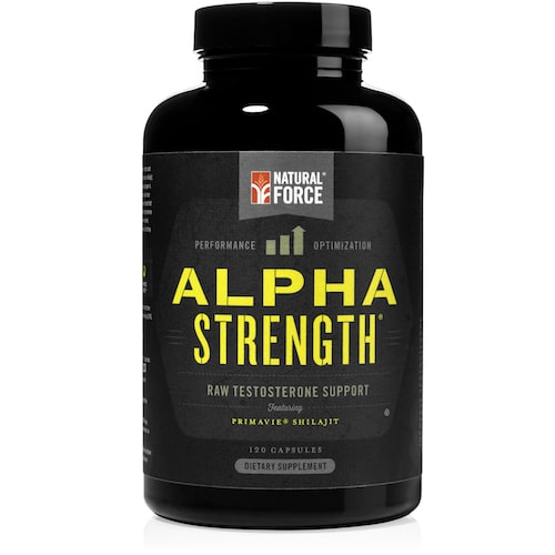 Alpha Strength Hormone Support - Natural Force - Certified Paleo - Paleo Foundation