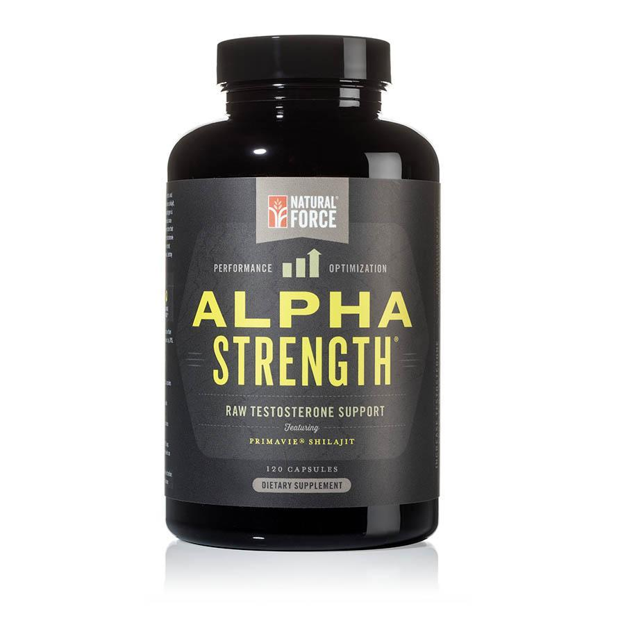 Alpha Strength - Natural Force - Certified Paleo by the Paleo Foundation