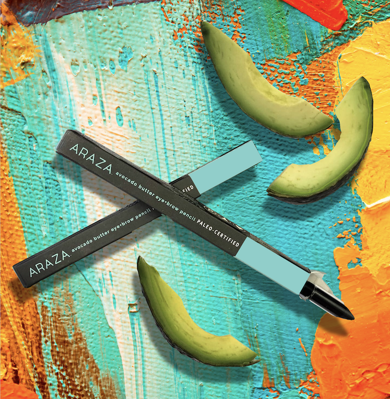Araza Beauty Certified Paleo Avocado Butter Eye Brow Pencil.jpg