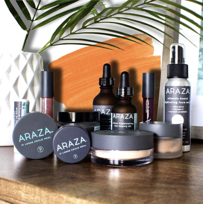 Araza Beauty Certified Paleo Makeup
