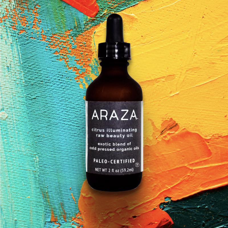 Araza Beauty Citrus illuminating raw beauty oil