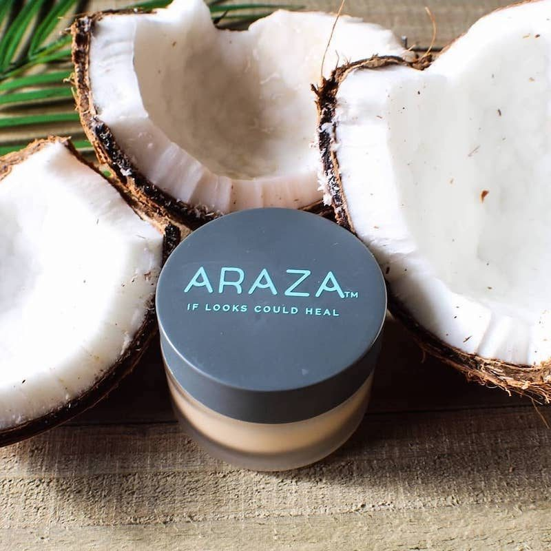 Araza beauty if looks could heal coconut foundation