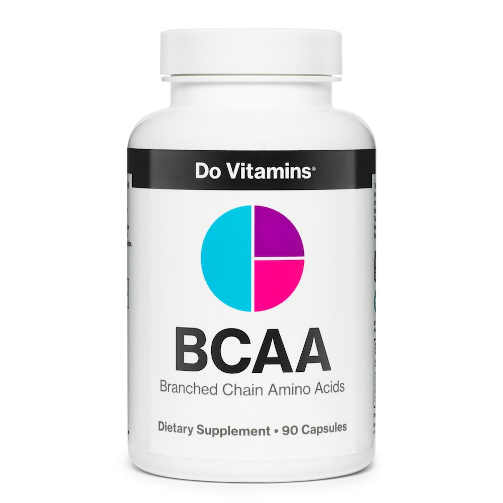 BCAA Capsules - Certified Paleo Friendly, KETO Certified, Paleo Vegan by the Paleo Foundation