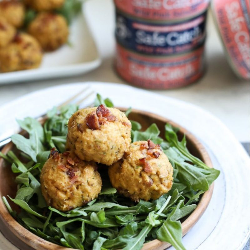 Bacon dill salmon meatballs - Safe Catch - Certified Paleo, KETO Certified by the Paleo Foundation