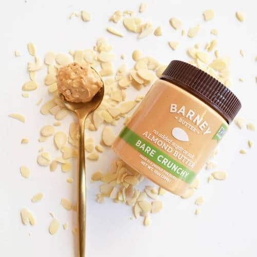 Bare Crunch Almond Butter - Barney Butter - Certified Paleo, Paleo Vegan - Paleo Foundation