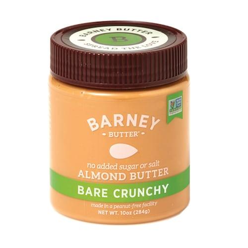 Bare Crunchy Almond Butter - Barney Butter - Certified Paleo, Paleo Vegan - Paleo Foundation