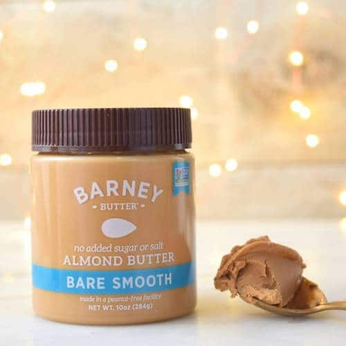 Bare Smooth Almond Butter w: Lights - Barney Butter - Certified Paleo, Paleo Vegan - Paleo Foundation