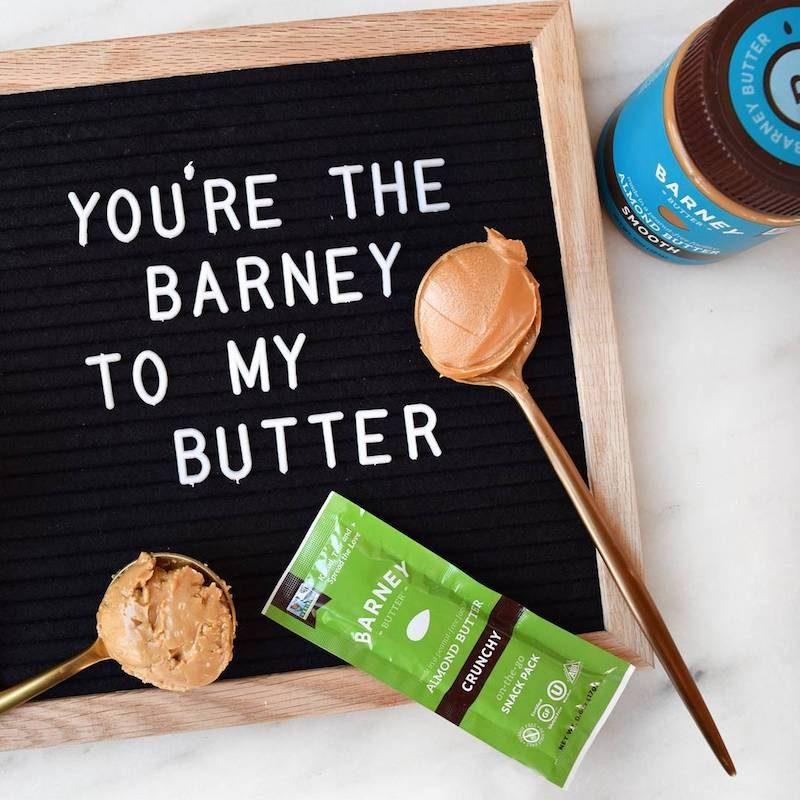 Barney to my Butter Almond Butter - Barney Butter - Certified Paleo, Paleo Vegan - Paleo Foundation